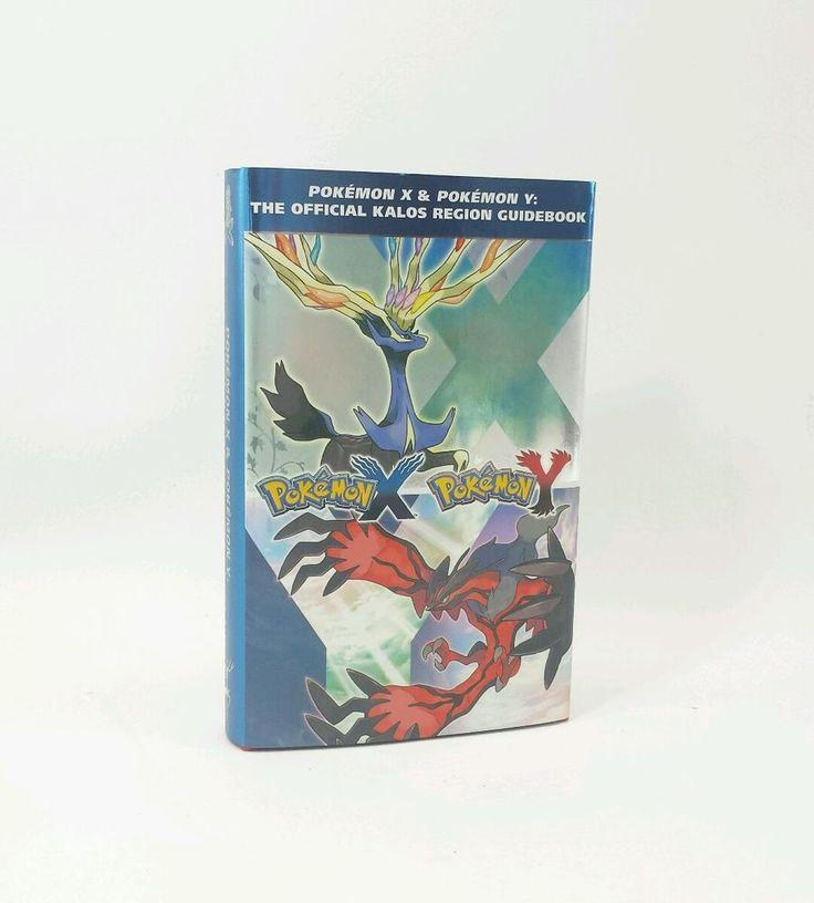 Pokemon X and Pokemon Y: The Official Kalos Region Guidebook: Hardback Cloth Map
