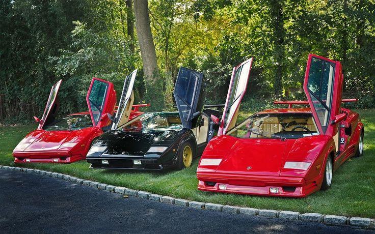 Lamborghini Diablo & Countach