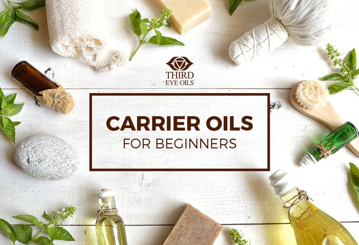 Beginner's Guide – Carrier Oils -  Understand what carrier oils are and its examples. via thirdeyeoils.com