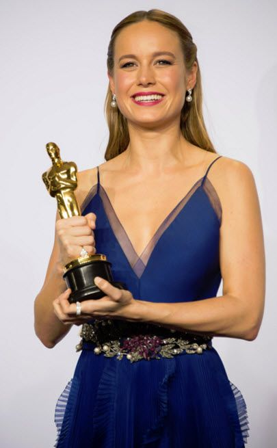 Brie Larson won the Academy Award for Best Actress In A Leading Role for the film Room in 2016.