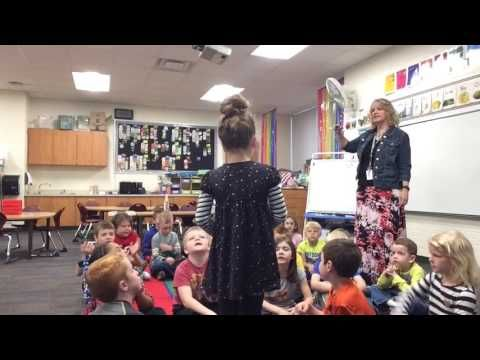 Watch in amazement as Stacy Byl's West Elementary kinders from Grand Rapids, Michigan energetically launch into composing complex…