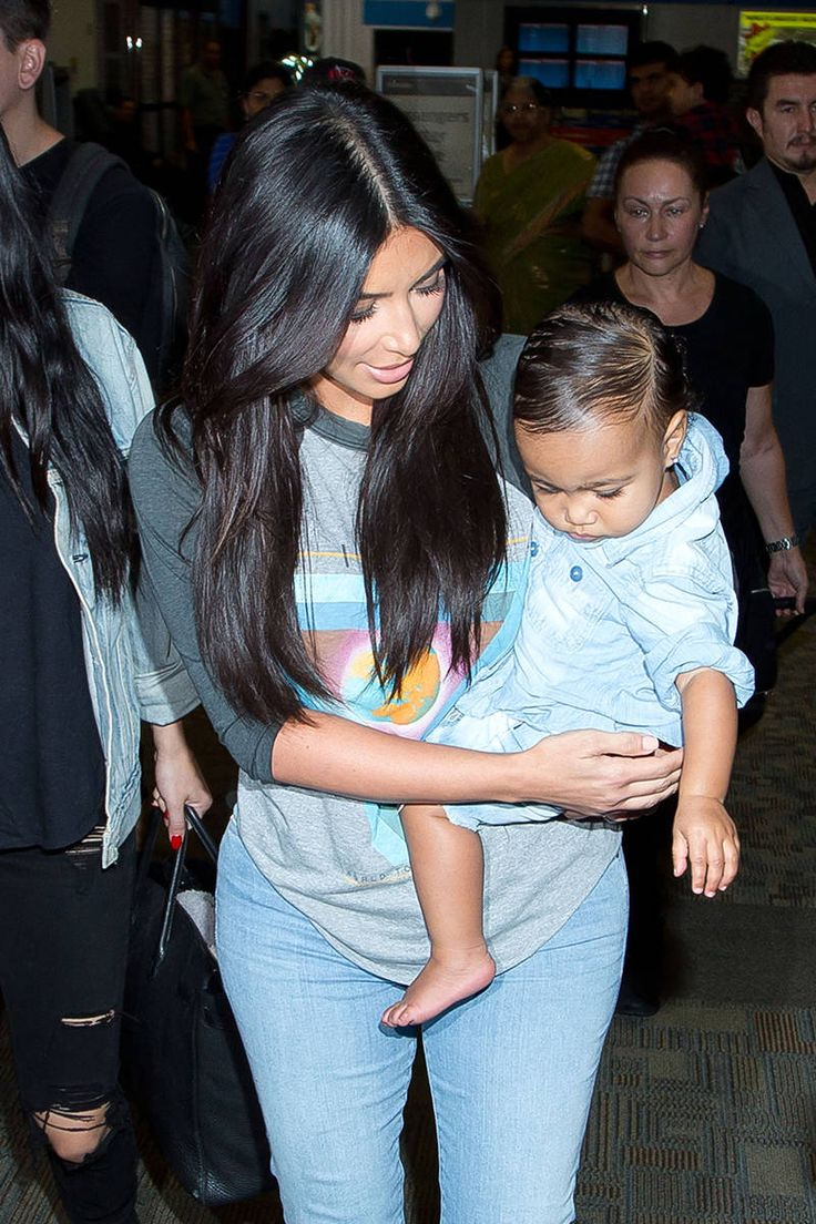 Kim Kardashian and North West Fashion - Best Mother-Daughter Matching Moments - Elle