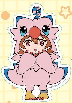 AmiAmi [Character & Hobby Shop]   Digimon Adventure tri. - Diecut Sticker (3) Sora Takenouchi(Pre-order)