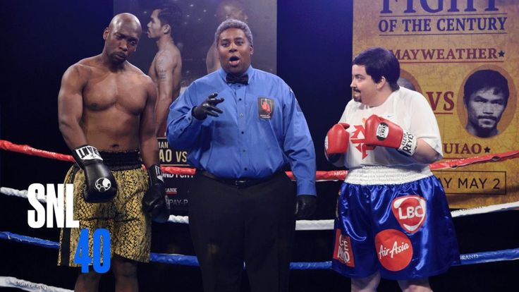 "In order to keep audiences from altering the channel, SNL stages its own variation of the ""Battle of the Century"" with Jay Pharoah portraying Floyd Mayweather as well as Aidy Bryant depicting Manny Pacquiao.  Subscribe to the SNL network for even more clips:  Download the SNL Application free of cost:  For even more SNL 40th Wedding anniversary Special:  Get extra SNL on Hulu And also:  Obtain a lot more SNL: Full Episodes:  Like SNL: A"
