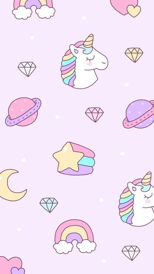 Pin By Daxa On Iphone Unicorn Wallpaper Cute Pink Unicorn Wallpaper Iphone Wallpaper Unicorn