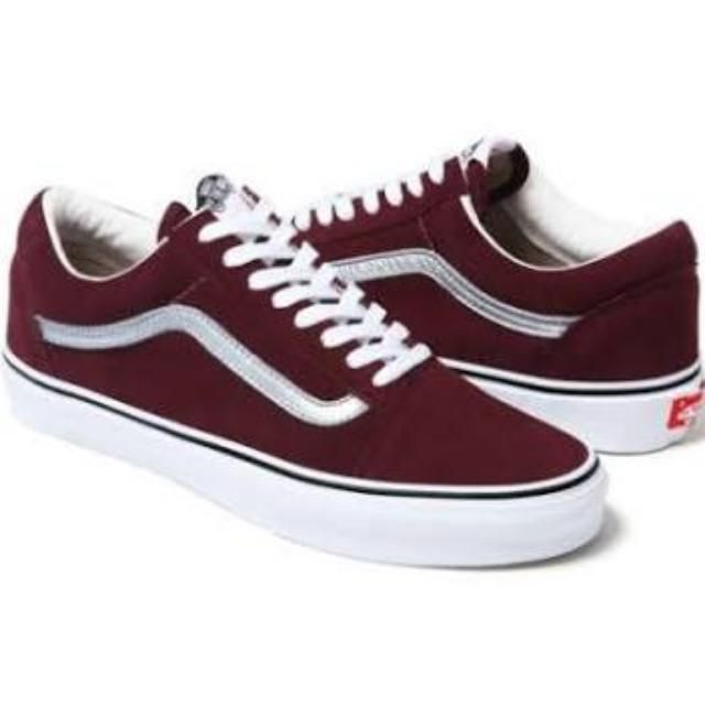 vans old skool maroon