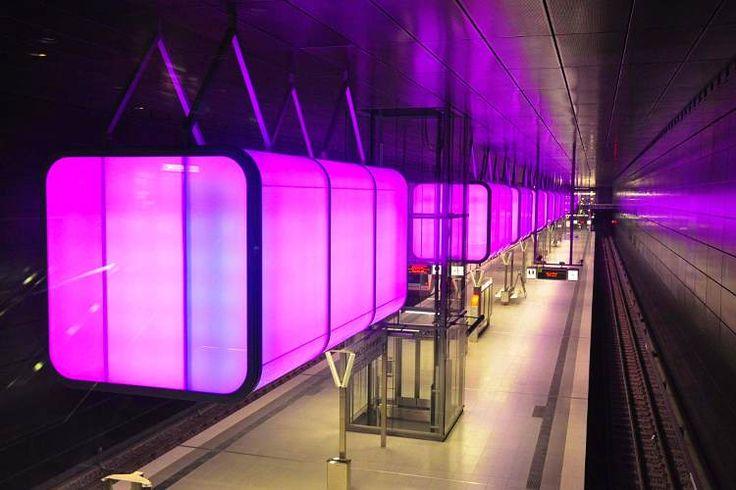 HafenCity-university-subway-station