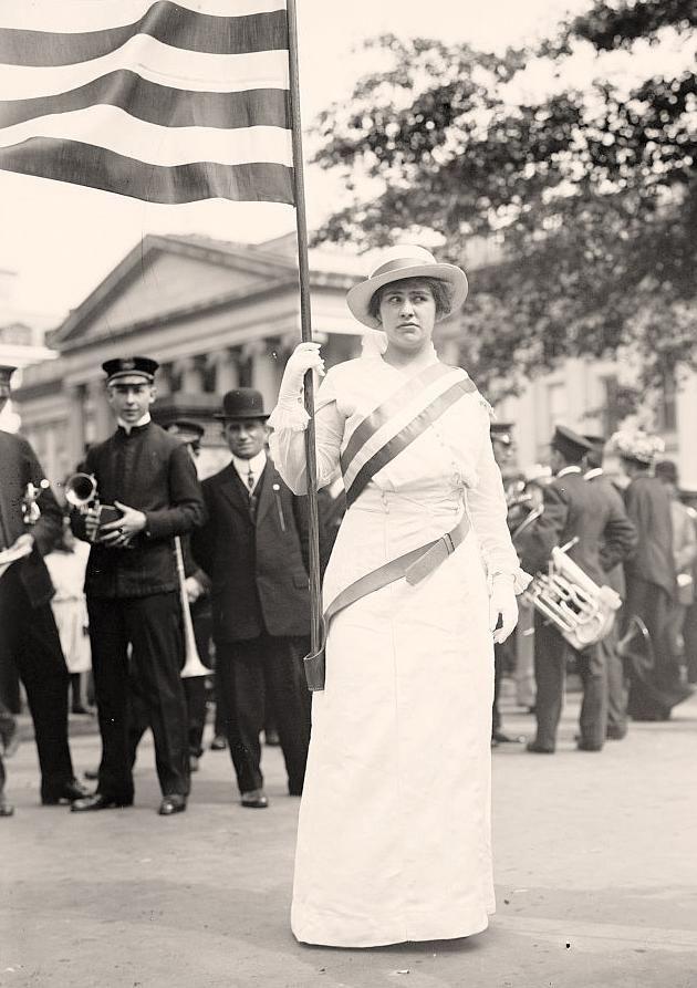 Helen Hitchcock - womens Suffragette - 1914 by Harris & Ewing