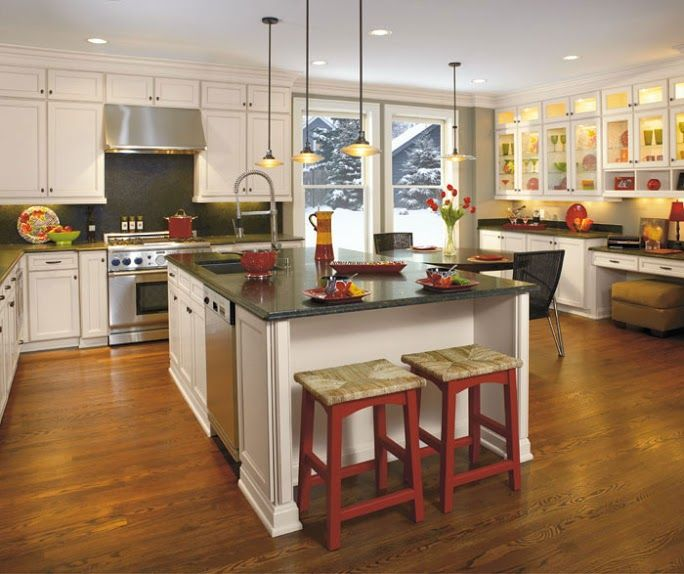Antique White Kitchen Cabinets At Home Depot: 51 Best Images About Transitional Kitchen Inspiration On