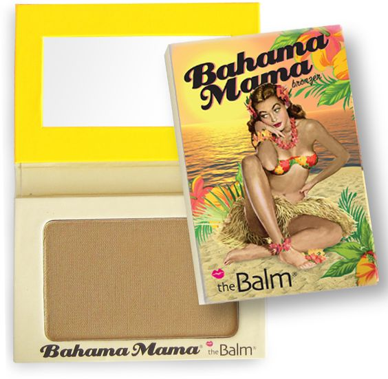 Bahama Mama Perfect for contouring ? for sure a great bronzer as it is not shiny at all and not red. Like like like it !!!!