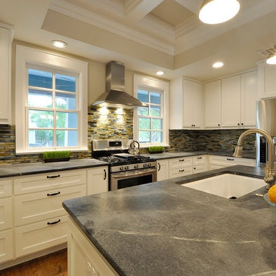 119 best Soapstone Sinks & Countertops images on Pinterest ... Colored Soapstone Countertops Kitchen Tile Back on colored marble countertops, colored glass countertops, colored quartz countertops,