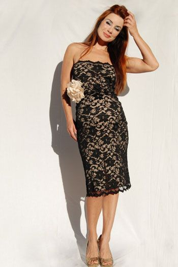 black lace on ivory dress by nicole michelle target size