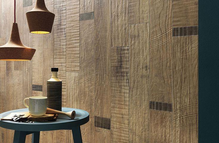 Der intensive und raffinierte Charme von wiederverwertetem Holz. - Italgraniti Group S.p.a. -