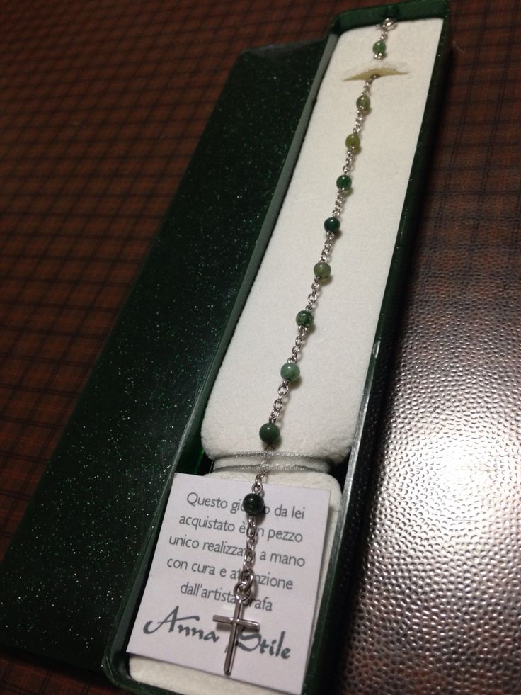 Braccialetto rosario Anna Stile Jewels