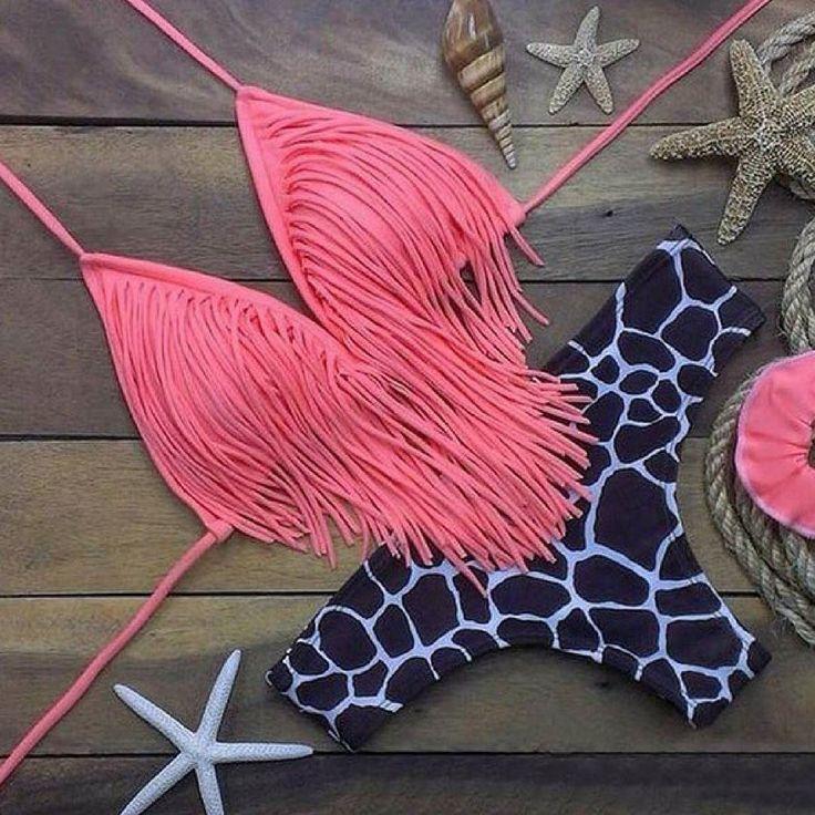 #Fringe: friend or foe?! Comment below! #summerfashion #bikinitime #fringeitup #beachday