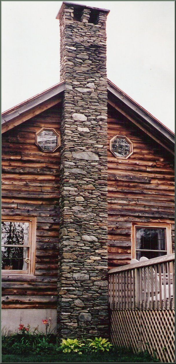 17 best images about stone chimneys on pinterest for Stone chimneys