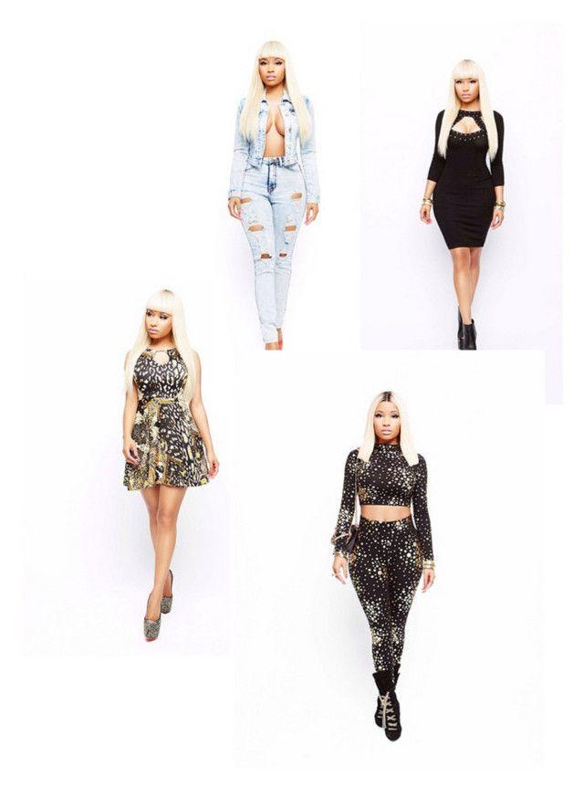"""""""Nicki minaj clothing line !!"""" by nicki-minaj143pink ❤ liked on Polyvore featuring Nicki Minaj"""