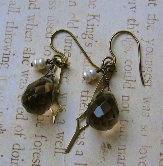 time traveller earrings, january 2008
