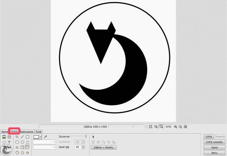 jak zrobić logo w photoscape
