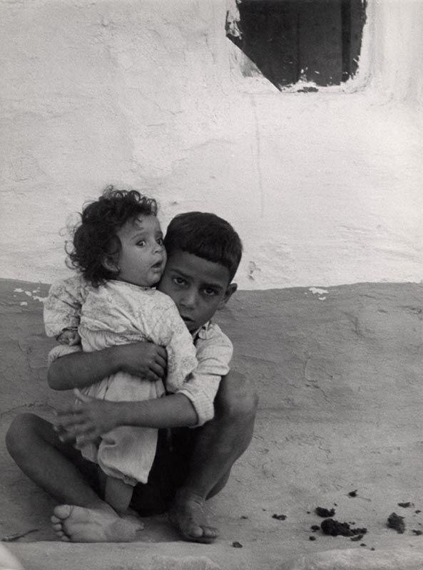 "Zofia Rydet photograph of the ""little man"", Bulgaria, 1959"