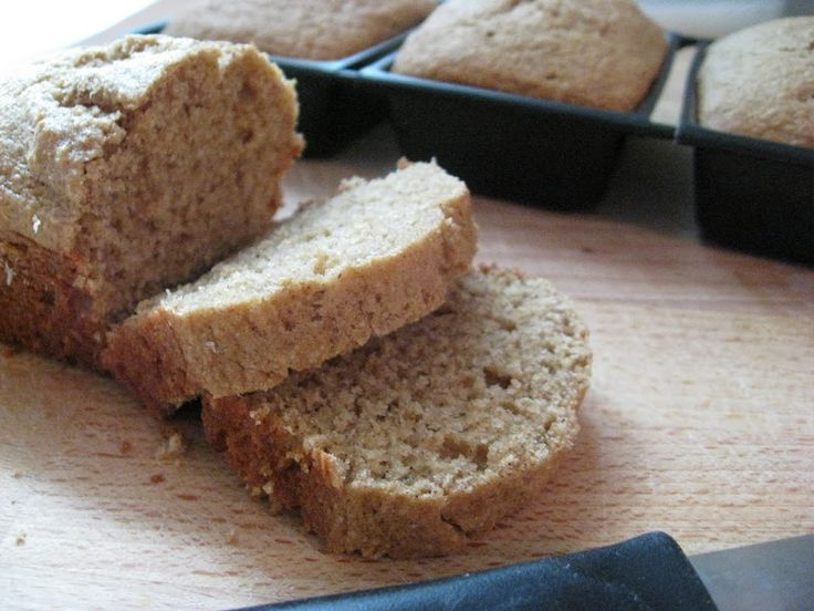 Applesauce bread- for L