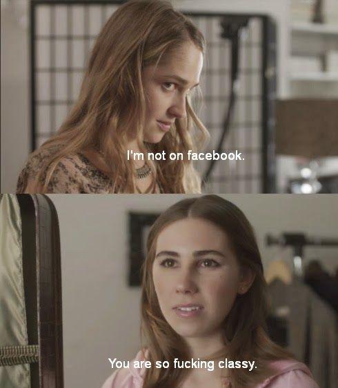 Looks Good On U: HBO Girls: Fave Shosh Moments