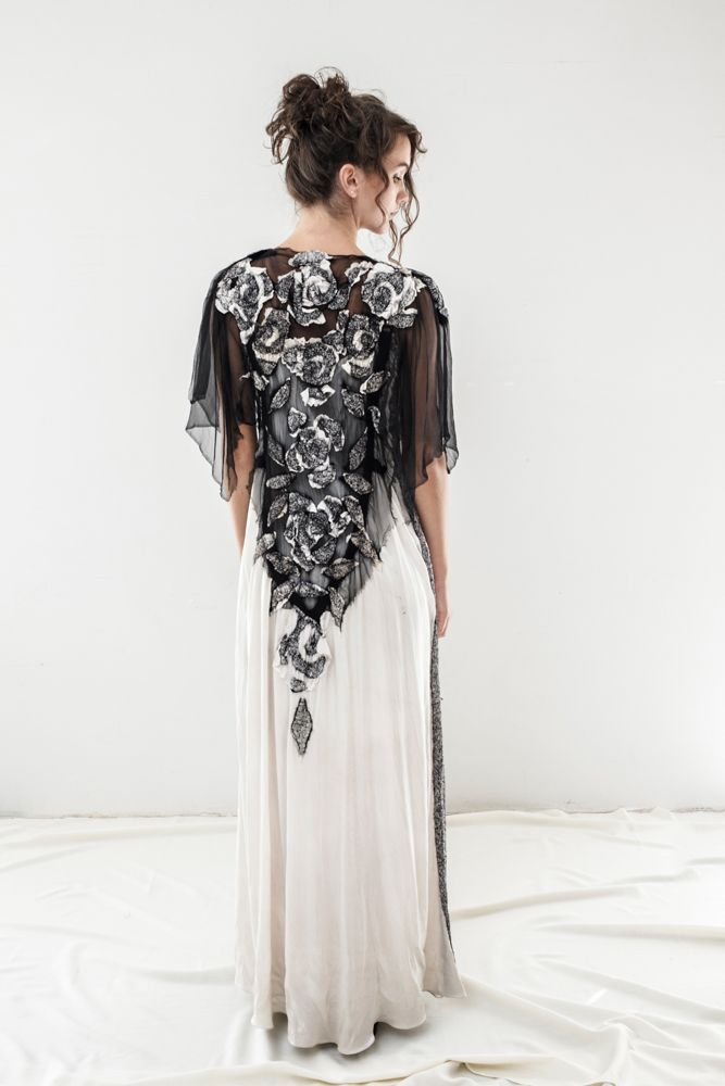 WOOCOON silk&wool dress