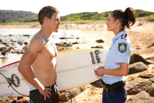 Charlie and Brax  home and away