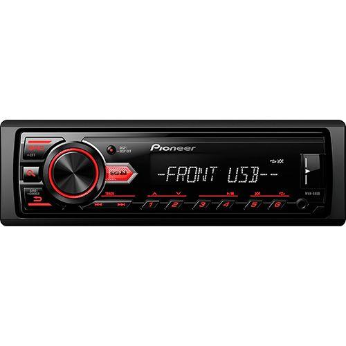 Foto 1 - Som Automotivo Pioneer Media Receiver MVH-88UB MP3 AM/FM Entrada USB
