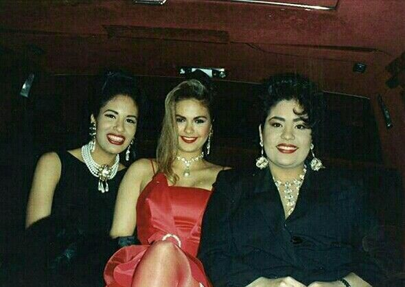 Selena, Shelly Lares and sister Suzette Quintanilla