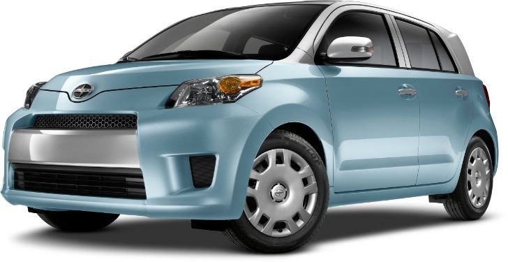 Scion xD Gets Two-Tone Paint Options for 2014