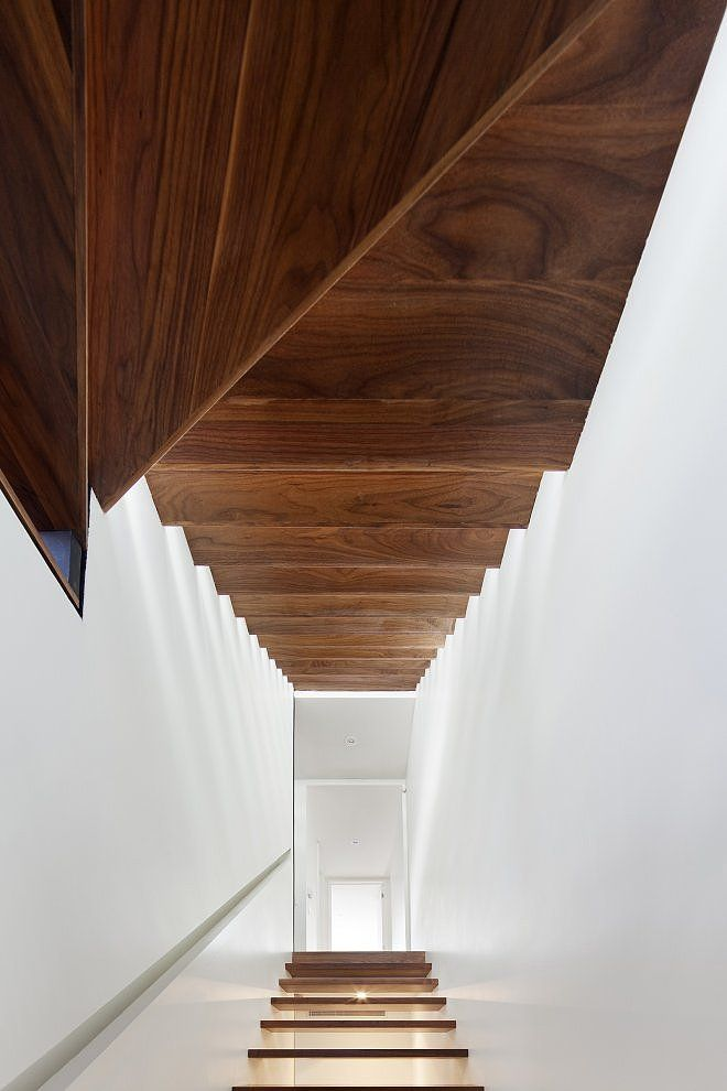 stair contrast house by dubbeldam architecture design