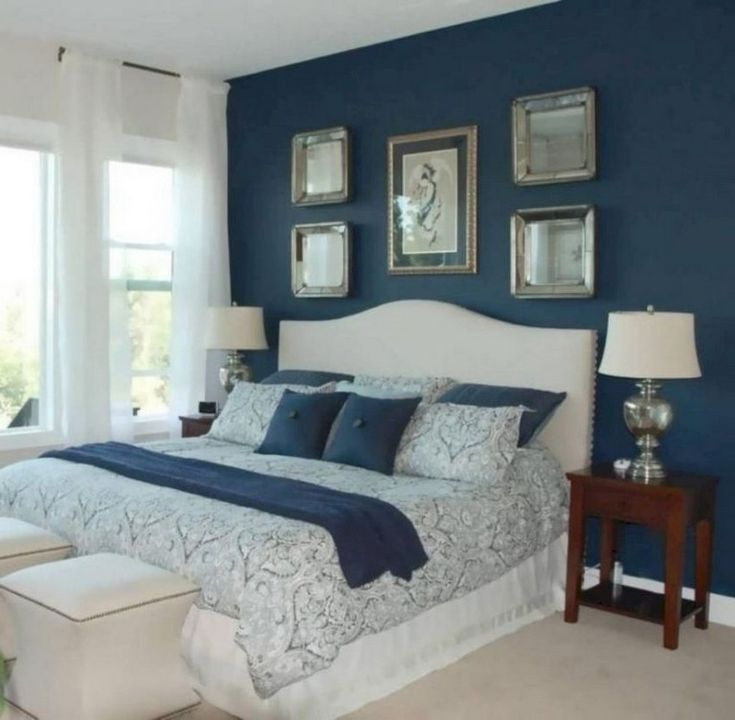 Bronx Blue Bedroom Project: 50 Wonderful Small Bedroom Ideas For Couples