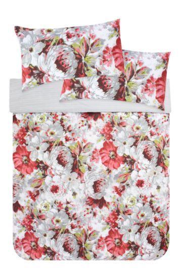 Floral Printed Duvet Cover Set