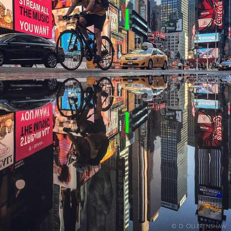 Best New York Photography Images On Pinterest Achieve Your - Photographer captures the amazing reflections of puddles in new yorks streets