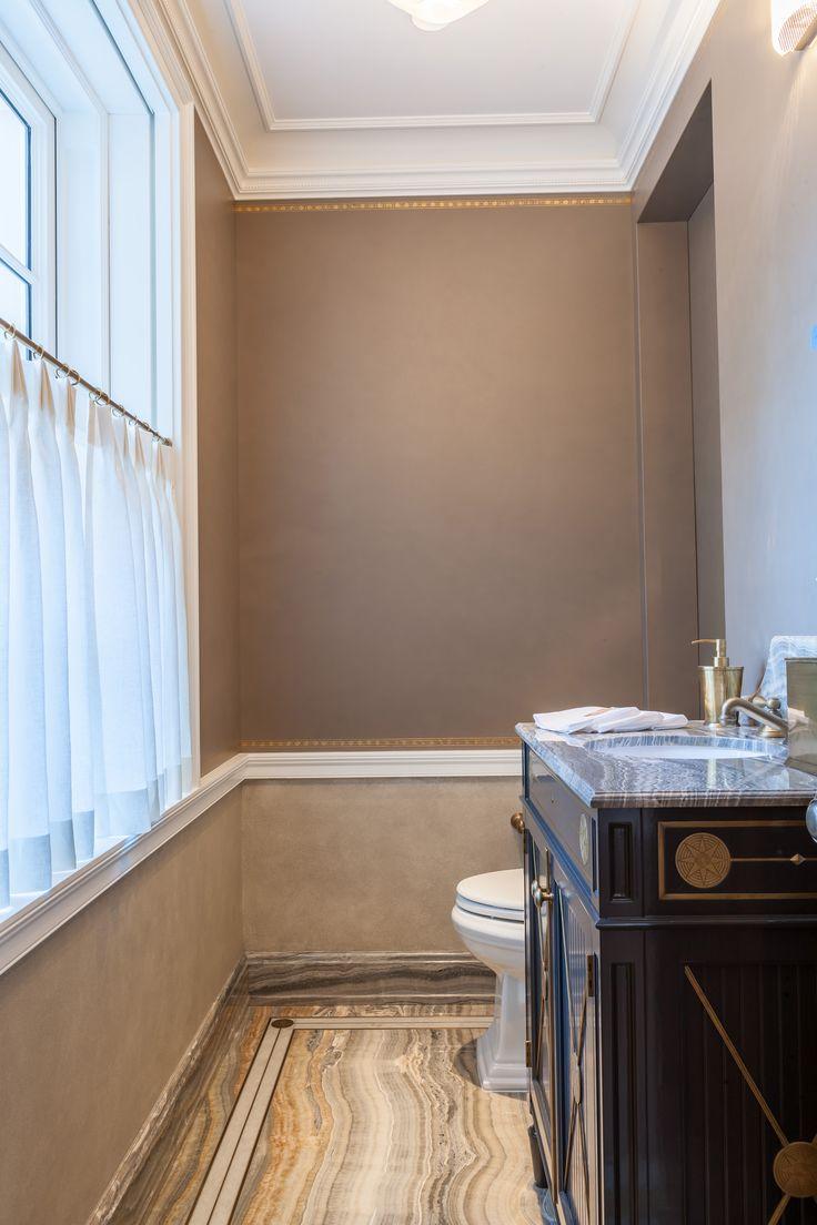 Dressing room with bathroom design - Powder Room