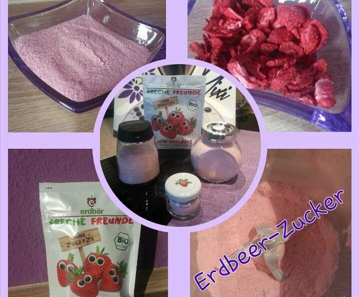 Erdbeer-Zucker von Iris' LilaLauneKüche auf www.rezeptwelt.de, der Thermomix ® Community