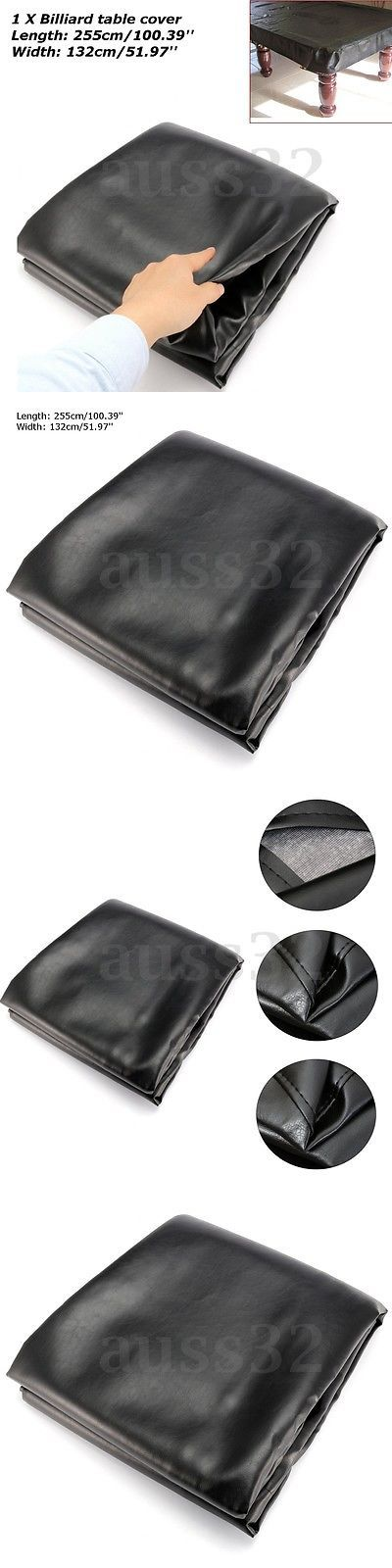 Table Covers 91569: Rubber Waterproof Cover Dustproof Cloth For 8Ft Pool Snooker Billiard Table -> BUY IT NOW ONLY: $59.99 on eBay!