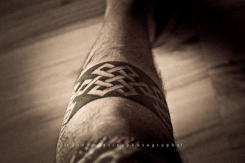 Infinity Knot Tattoo