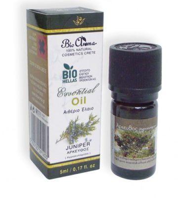 Juniper pure essential oil. - Aromatherapy juniper oil