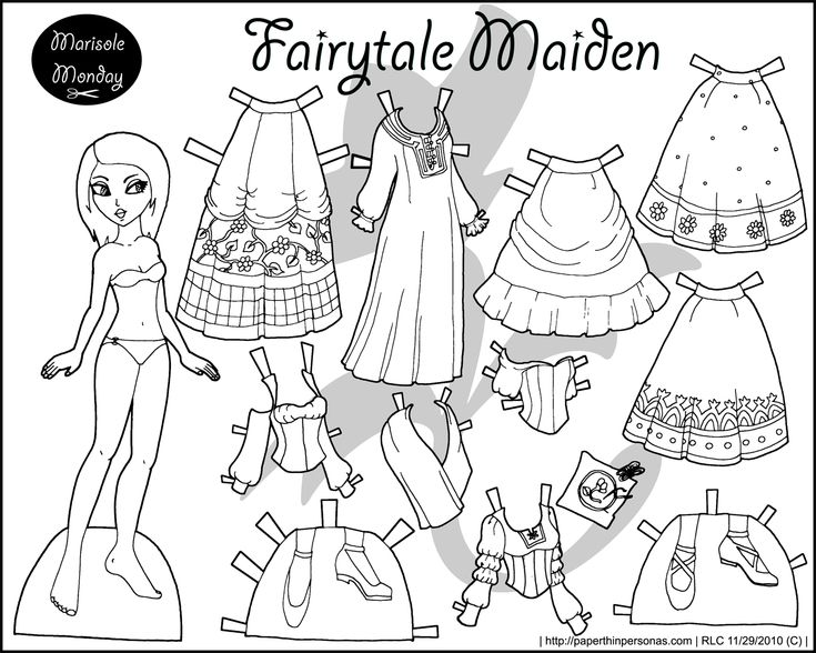 129 best Paper doll images on Pinterest Paper dolls Paper and