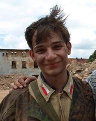 """Krzysztof Chodorowski as Bambo- """"Czas Honoru"""""""