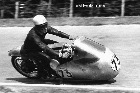 Ken Kavanagh, Australien, Motorradrennfahrer