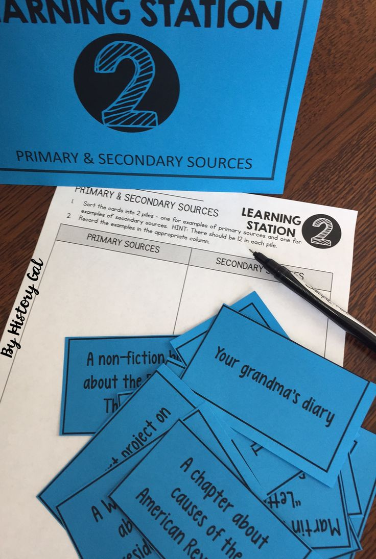 Worksheets Primary And Secondary Sources Puzzle 430 best history gal images on pinterest reading primary and secondary sources doodle notes stations