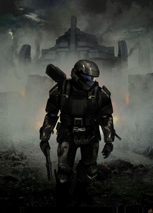 Halo 3: ODST concept art.