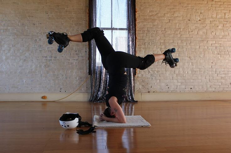 Why Yoga and Roller Derby Are Two Great Tastes That Taste Great Together