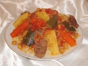 Traditional North African Couscous (The ...
