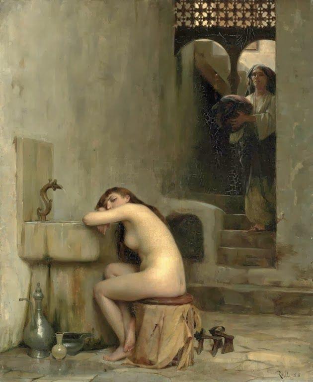 Ξεκούραση στο μπάνιο (1888)