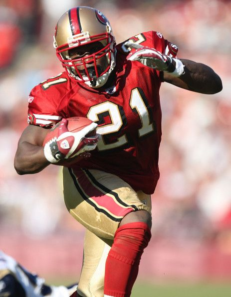 Why did I doubt you - you will be starting week 2! Frank Gore