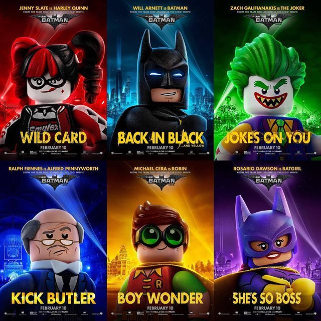 Posters for 'The LEGO Batman Movie'